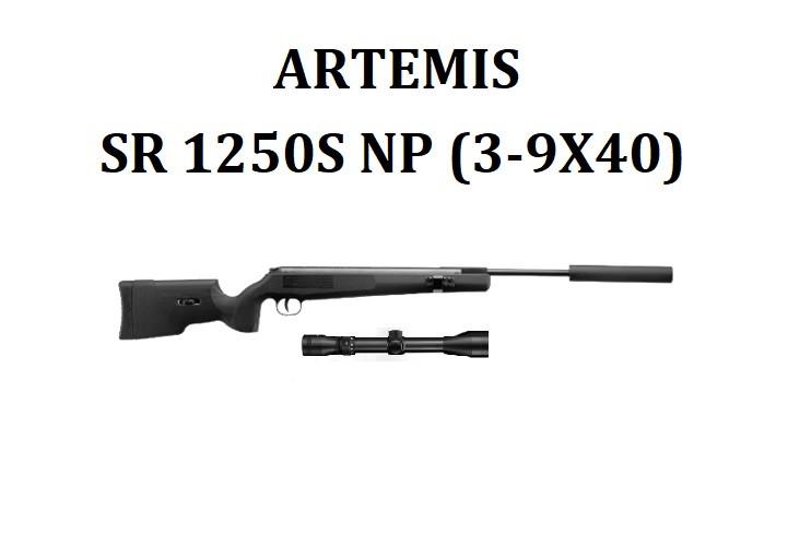 Пневматическая винтовка Artemis SR1250S NP (3-9x40)