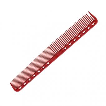 Расческа для стрижки 339 Y.S.PARK Professional Cutting Combs Red