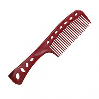 Расческа для окрашивания и тушовки 601 Y.S.PARK Professional Self Standing Combs Red