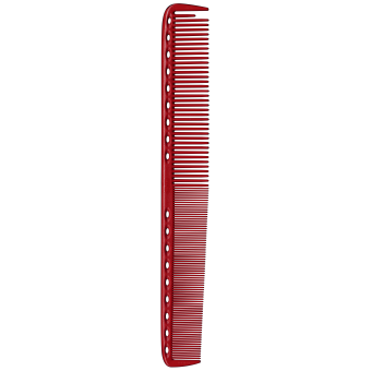 Расческа для стрижки 335 Y.S.PARK Professional Cutting Combs Red