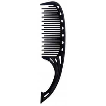 Расческа Y.S.PARK Professional   - 605 / Self Standing Shampoo Combs Black