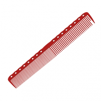 Расческа для стрижки 336 Y.S.PARK Professional Cutting Combs Red