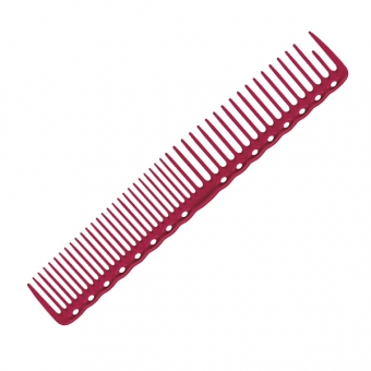 Расческа для стрижки 338 Y.S.PARK Professional Cutting Combs Red