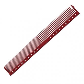 Расческа для стрижки с разметкой обучающая G45 Y.S.PARK Professional Guide Сomb Red