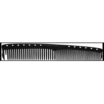 Расческа для стрижки Y.S.PARK Professional  - 365 /  FRENCH COLOR COMB  Carbon Black